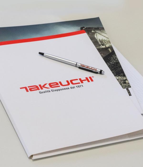 Cartelline bianche Takeuchi
