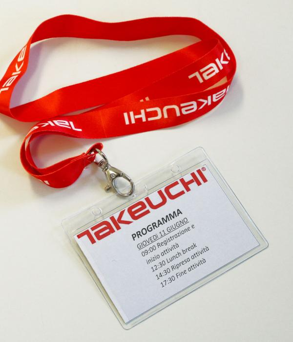 Porta badge Takeuchi